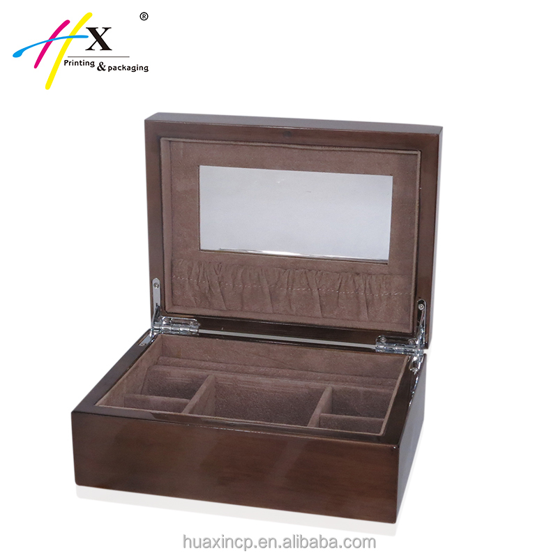 Popular Wood Portable Jewelry Display Cases, Wood Portable Jewelry Display  LO39