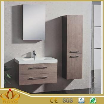 Ra316 Rotating Mirror Cabinet Laptop Wood Storage Hanging Bathroom Cabinets