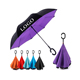 branded logo inverted umbrella double layers inverted reverse umbrella Regenschirm parapluie
