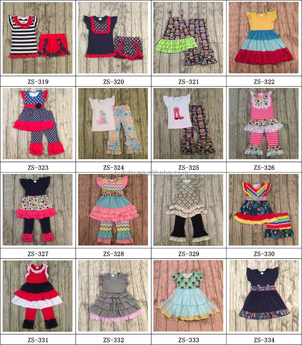 0971a3d3b 2017 Sue Lucky Spring New Style Baby Girls Dress Designs Party Wear ...