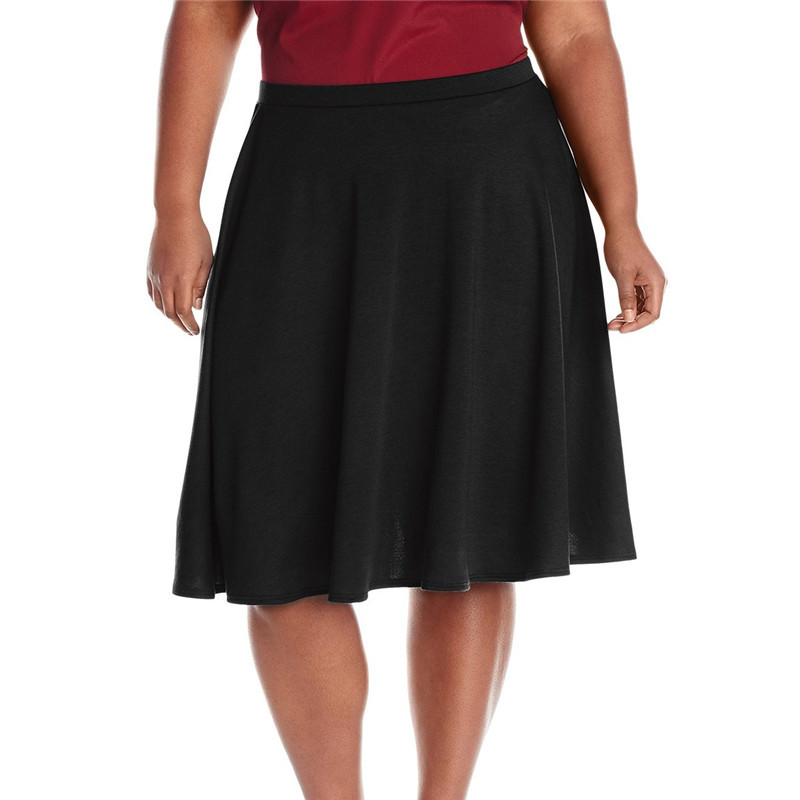1cd047290 Get Quotations · Women 7XL Plus Size Saia Midi Summer Style Short Tutu  Skirts 2015 Faldas Largas High Waist