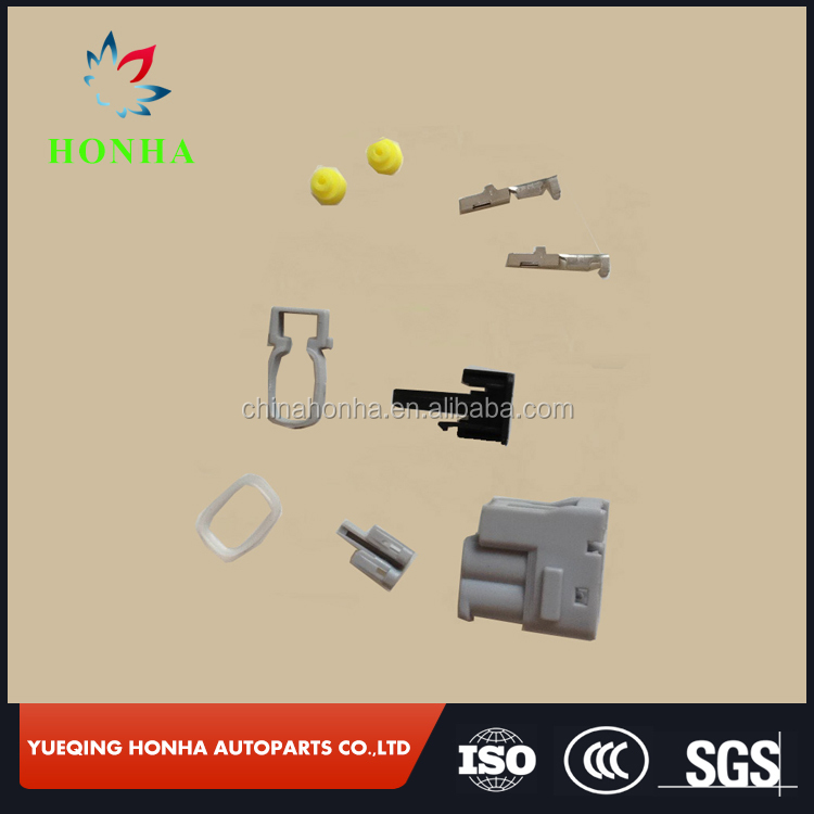 7283-8226-30 90980-11246 Toyota 2 pin female equivalent auto Injector Ignition Coil connector
