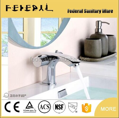 Most popular Dual Handle brass Antique basin faucet of antique tap and antique basin tap manufactuer temperature display on body