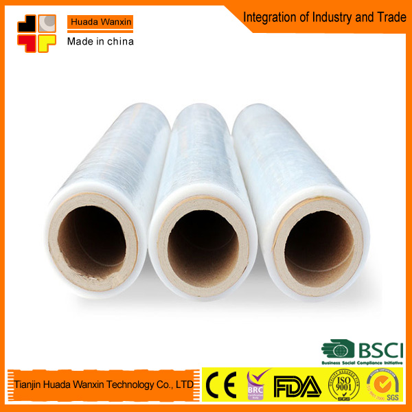 Stretch film for basic packing plastic film thickness 23my