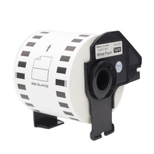 PUTY China Manufacturer dk 2205 thermal paper roll compatible with bro p touch QL label printers