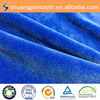 super soft flexible polyurethane fabric polyester double layer raschel fabric