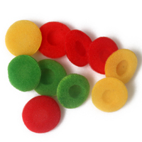 Soft Foam Cushions Pad Protector Earplugs For Earphone Headset Ear Headphone Sponge