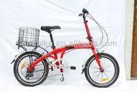 2015 New style good 16 inch folding bicycle/cheap folding bike KB-FB-Z03