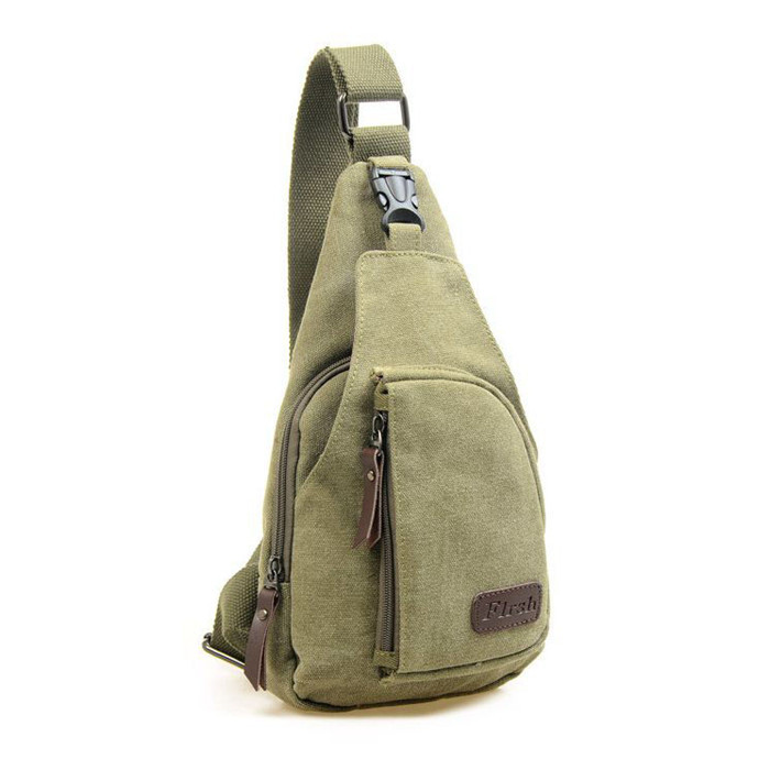 780a2232ba50 Fashion Vintage Men Messenger Bags Casual Outdoor Travel Hiking Sport  Casual Chest Canvas Male Small Retro