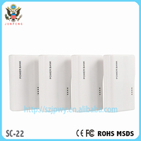 Shenzhen protable universal mobile phone charger 5600mah power bank high energy mobile power supply