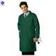 Wholesale Unisex Lab Coat with Pockets In Hunter Green