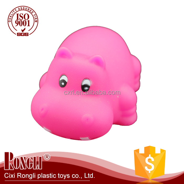 Lovely mixed animals colorful soft rubber floating animal bath toy