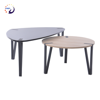 Modern New Mdf Wooden Teapoy Design Coffee Table - Buy ...