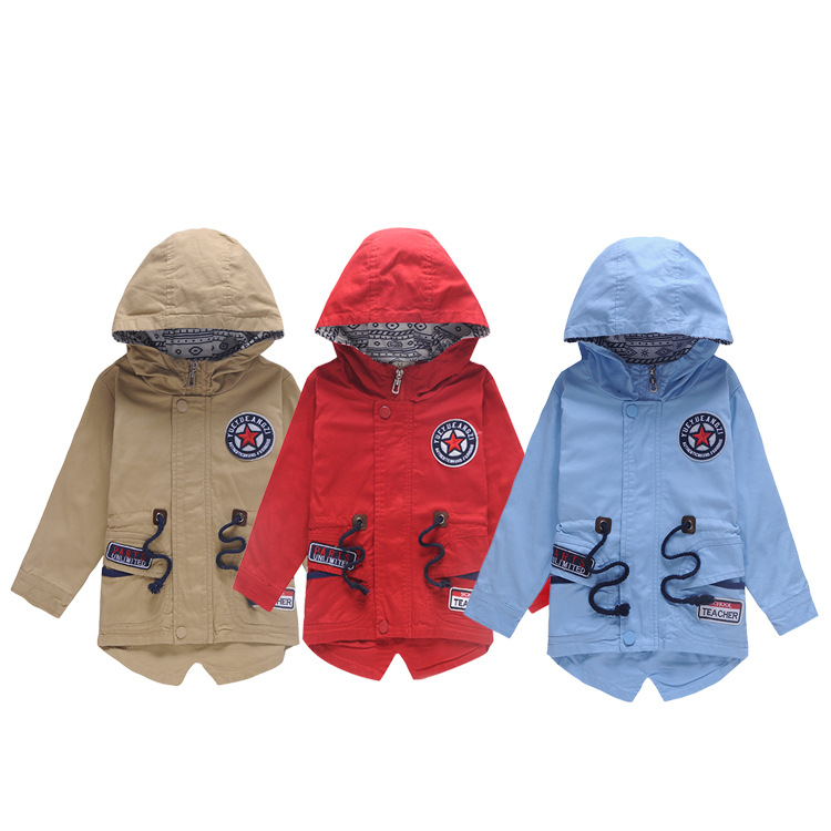 fall windbreak for baby boys bulk garment buyers kid coats wear knit jacket coat korean design