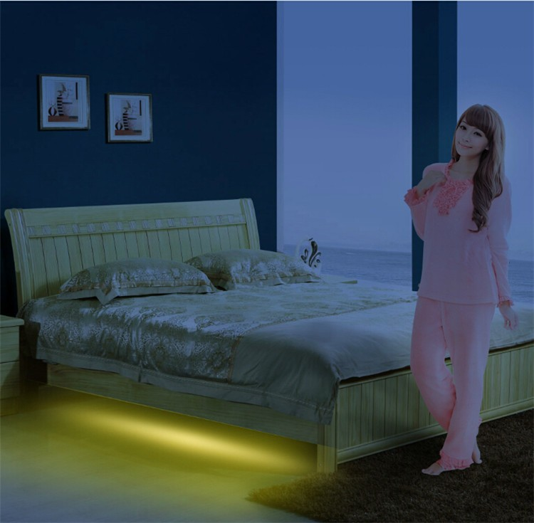 Usa Hot Sell Led Bed Light,Motion Activated Night Light For Under ...