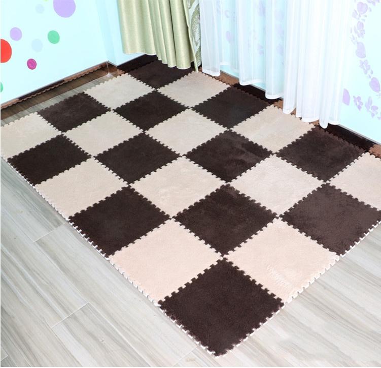 Plush Gy Soft Rug Carpet Area Rugs