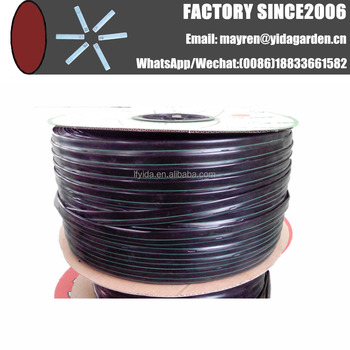 diameter 5/8inch thickness 8mil 12inch dripper spacing drip tape stock
