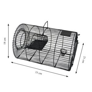 Wholesale Mouse Trap Iron Live Cach Wire Steel Rat Cage Trap