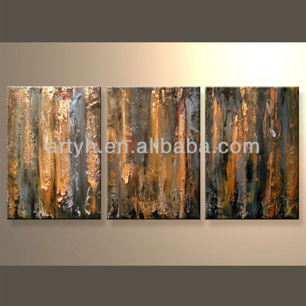 Unframed Abstract Canvas Art For Decor In Discount Price