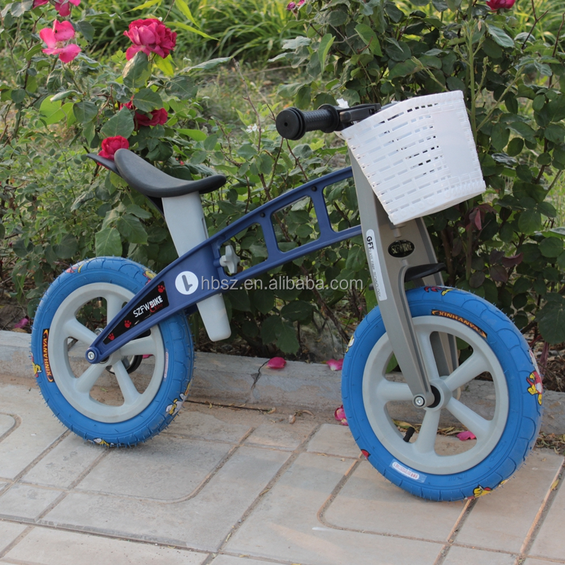 Plastic tricycle kids balance exercise bikes
