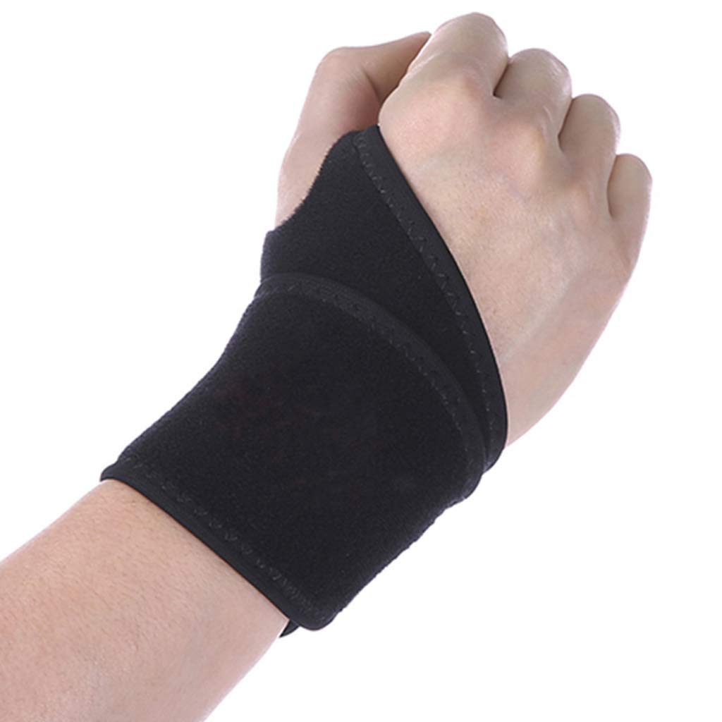 ZLCY Outdoor Sports High Elastic Wristband, Weightlifting Basketball Badminton Protective Wrist