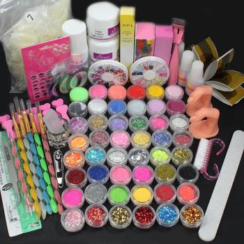 Professional Acrylic Nail Art Color Acrylic Brand Glitter Powder