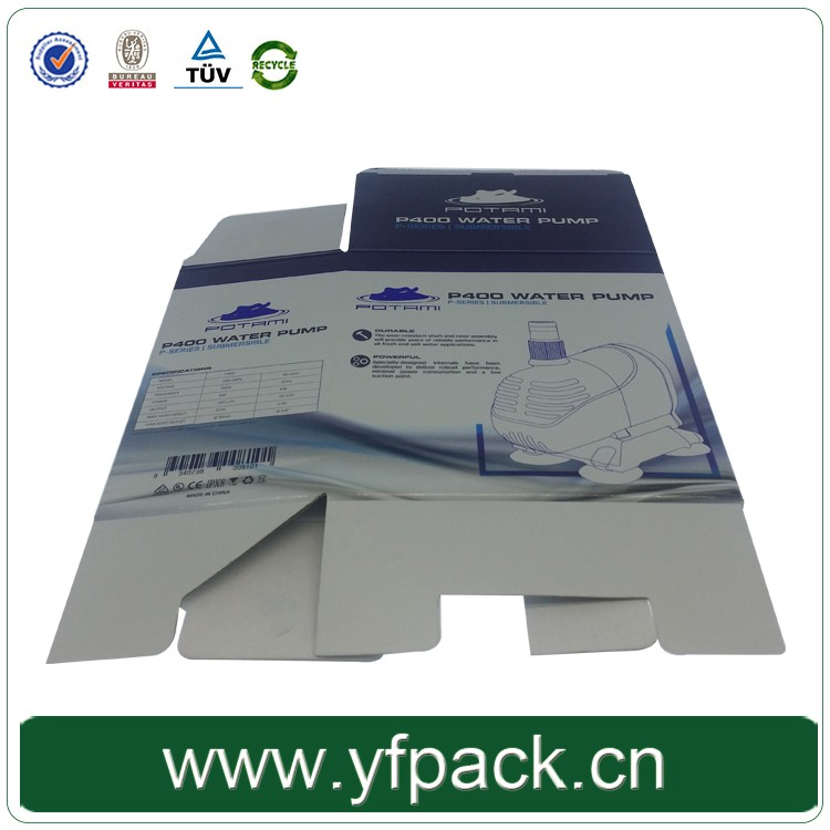 Customize Printing 4C Printed Foldable/Folded Paper Packaging Products