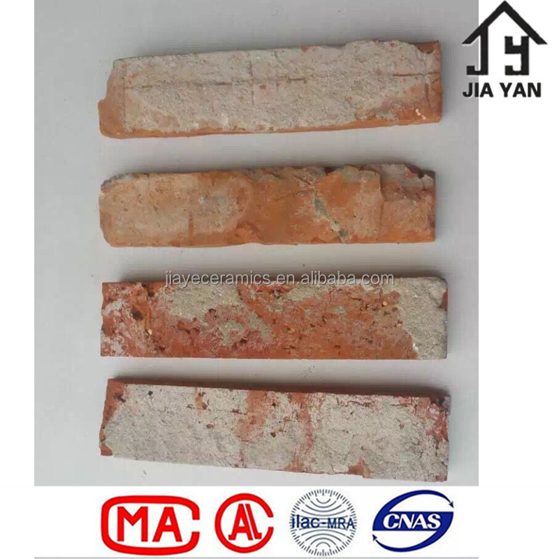 Standard size thin thickness old bricks