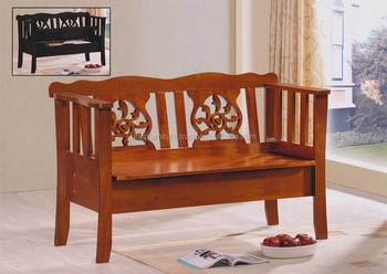 Magnificent Classic Indoor Wood Bench Chair With Rest Back Storage Seat Buy Classic Indoor Wood Bench Chair Bench Chair With Rest Back Storage Seat Cheap Beatyapartments Chair Design Images Beatyapartmentscom