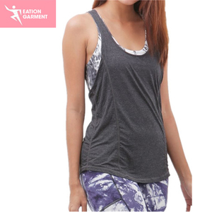 Fashion Athletic Wear Body Slimming Tank top Yoga Vest For Women