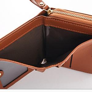 5de4aecf7515 Leather Wallet Clock