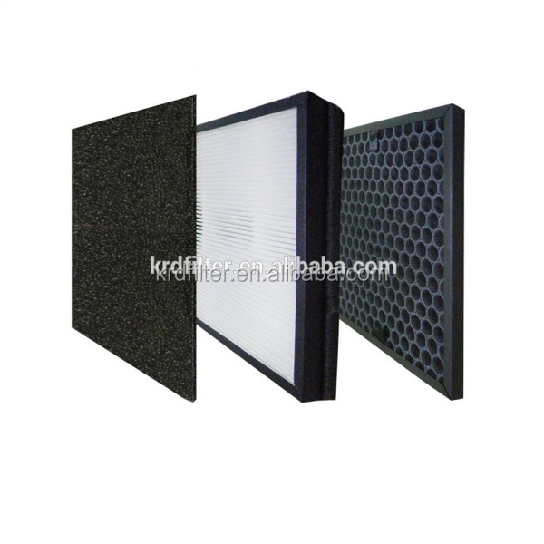 Pre Filter Activated Carbon Flat Panel G4 Pre Hepa Air Filter