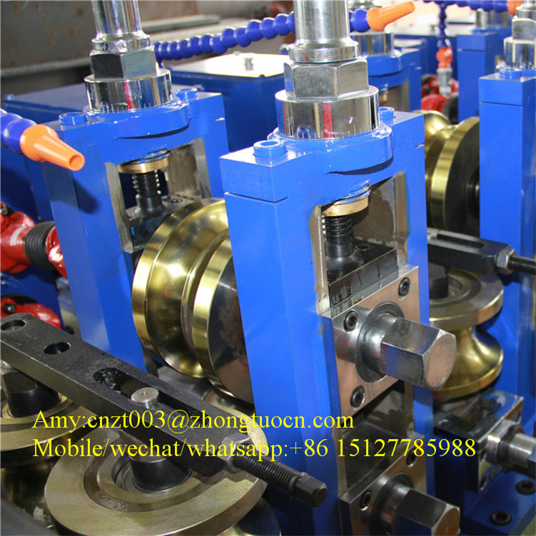 Full automatic high frequency welding tube machine square round pipe machine factory price