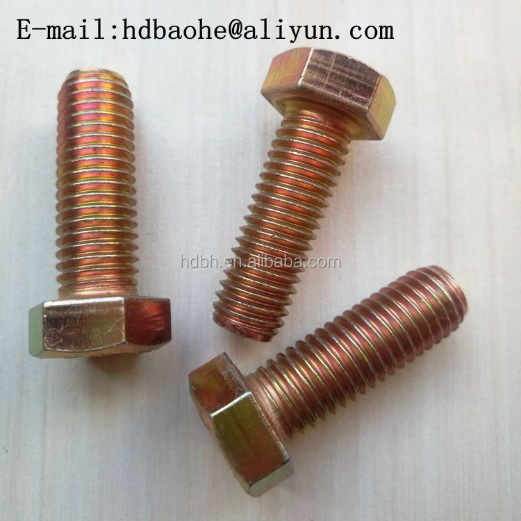 Carbon Steel Bolts And Nuts Grade 8.8 hex bolt