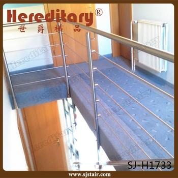 Modern Balustrade Design Stainless Steel Horizontal Bar Railing For  Staircase/deck/balcony