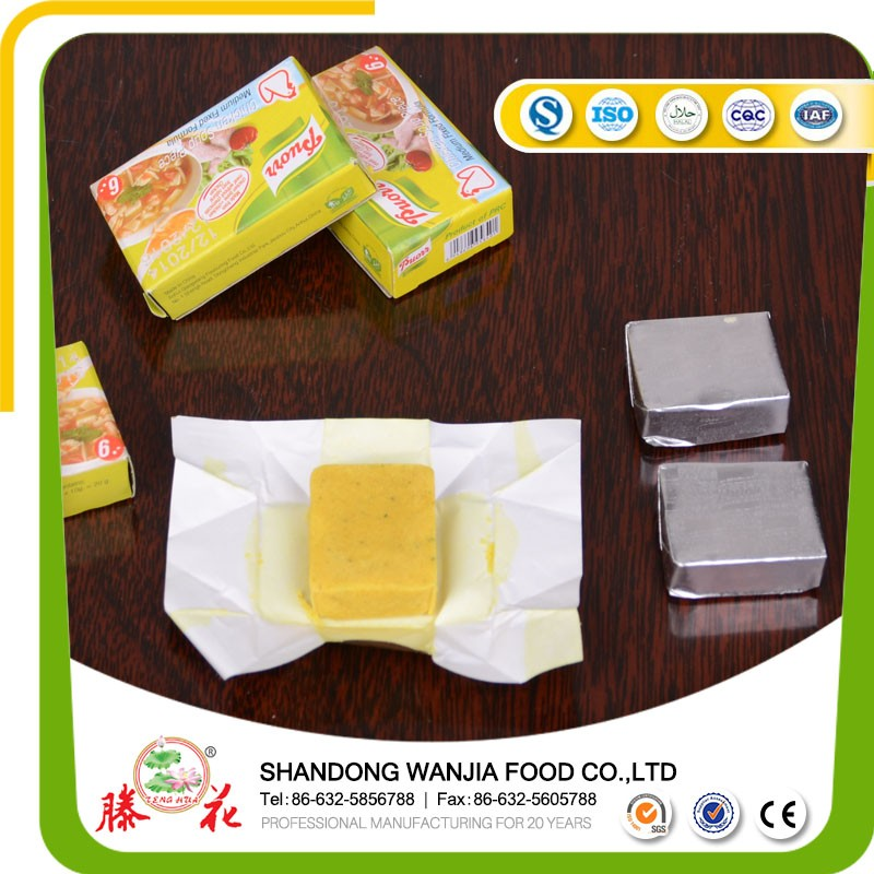 5G*120*24 ROYAL HALAL CHICKEN BOUILLON CUBE STOCK CUBE