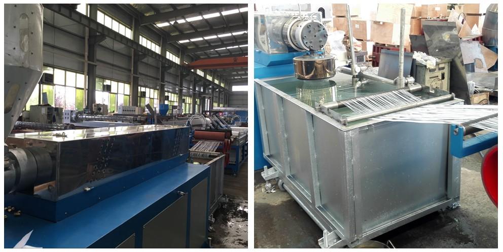 HUISDIER PP PA monofilament garen extruder voor airconditioning filter maken
