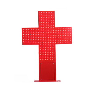 Red Color Double Sides Cross LED Sign for Church