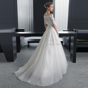 Weiße Farbe Nahen Sleeve Lange Design Slim-line Geschnürt Mode ...