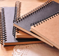 Cheap custom wholesale a4 a5 spiral / perfect bound / sewn bound / saddle stitched notebook printing