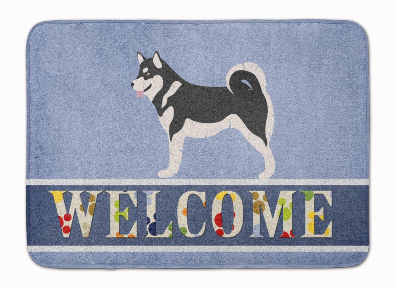 "Caroline's Treasures Alaskan Malamute Welcome Floor Mat, 19"" x 27"", Multicolor"