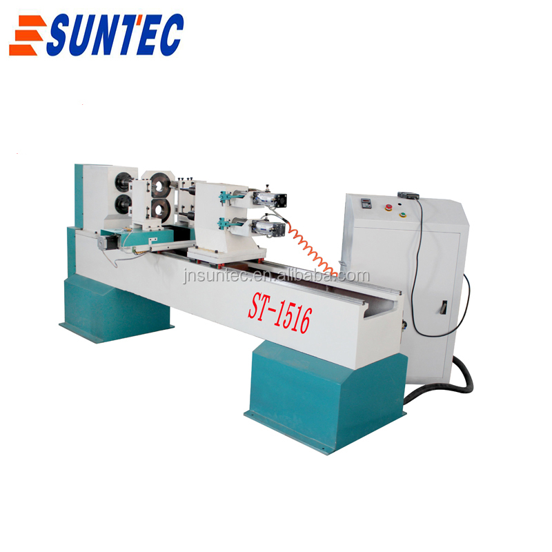Double Axis Four Cutter For Baseball Bat Making Automatic Cnc Wood Lathe -  Buy Double Axis Four Cutter For Baseball Bat Making Automatic Cnc Wood