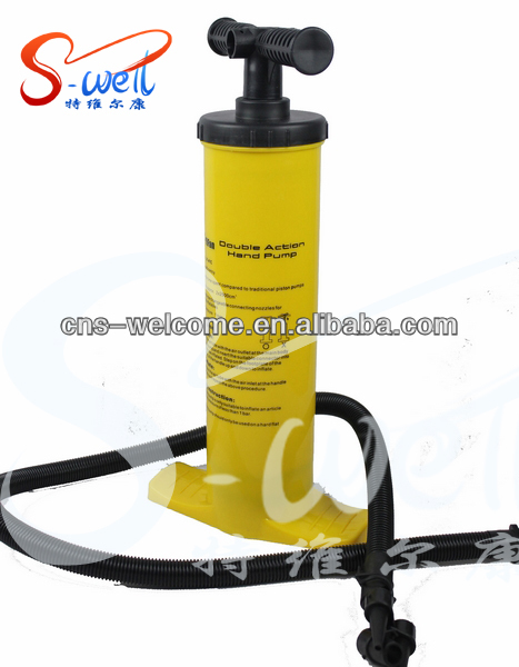 two-way/double action handpump for inflatable toy