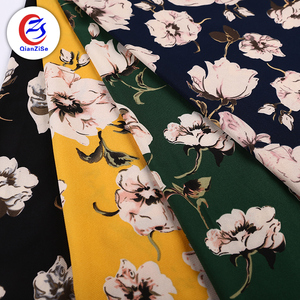 wholesale custom polyester stretch printed lycra spandex fabric