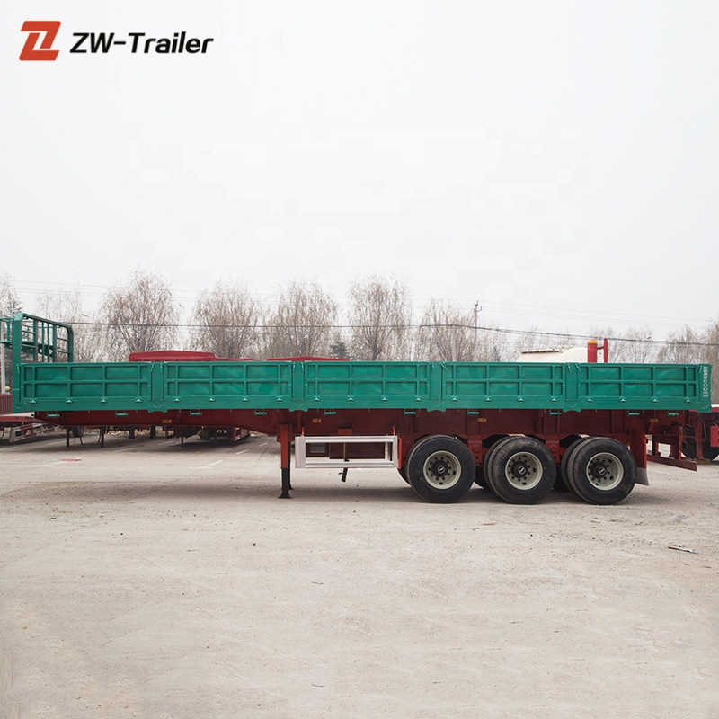 Good quality 3 axle sidewall trailer made in china