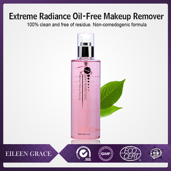 pimpled acne skin Oil-Free Nature Makeup Remover