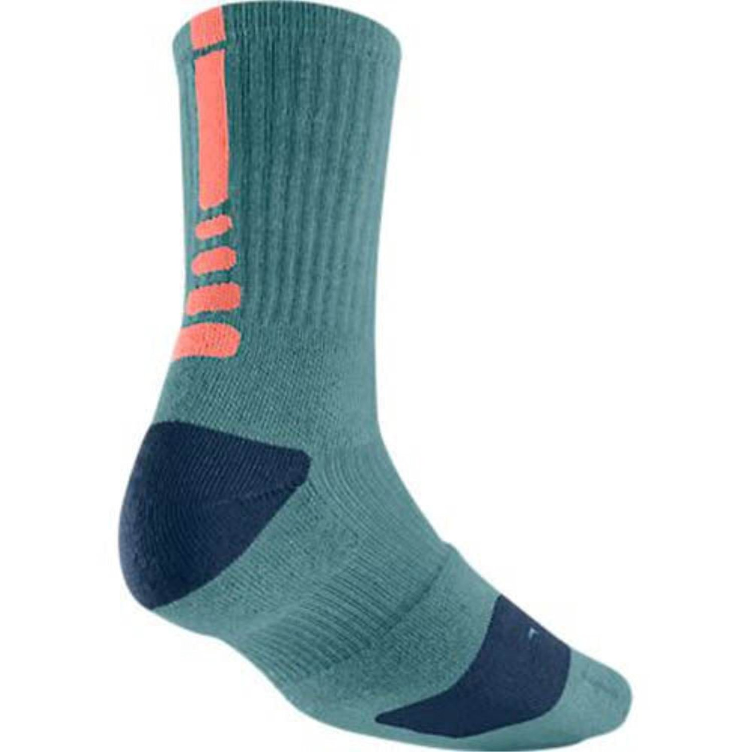 c6c27435a24d Get Quotations · Nike Elite Women s Lebron Basketball Crew Socks Small  (Size 4-6) Teal