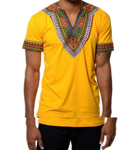 2017 Fashion Popular Ethnic Tribe Print Man's T-Shirt
