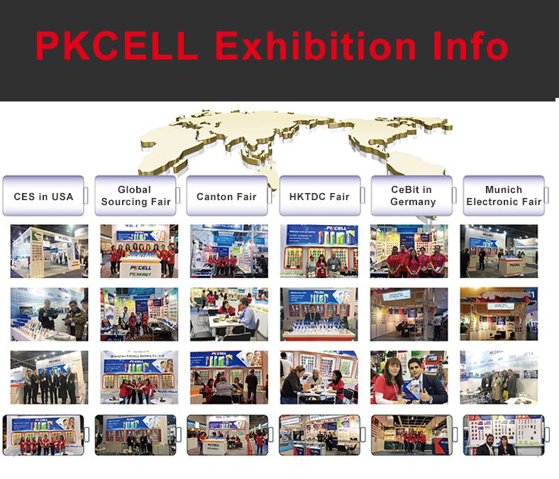 2019 PKCELL lithium-batterie 18650 3350mAh 3,7 v li-ion batterie für mixer