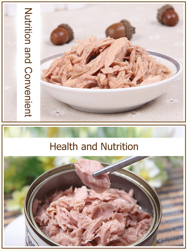 delicious frozen food canned shred tuna in veg oil